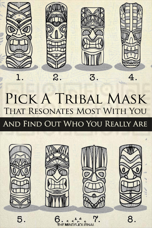 Pick A Tribal Mask That Resonates Most With You And Find Out Who You Really Are