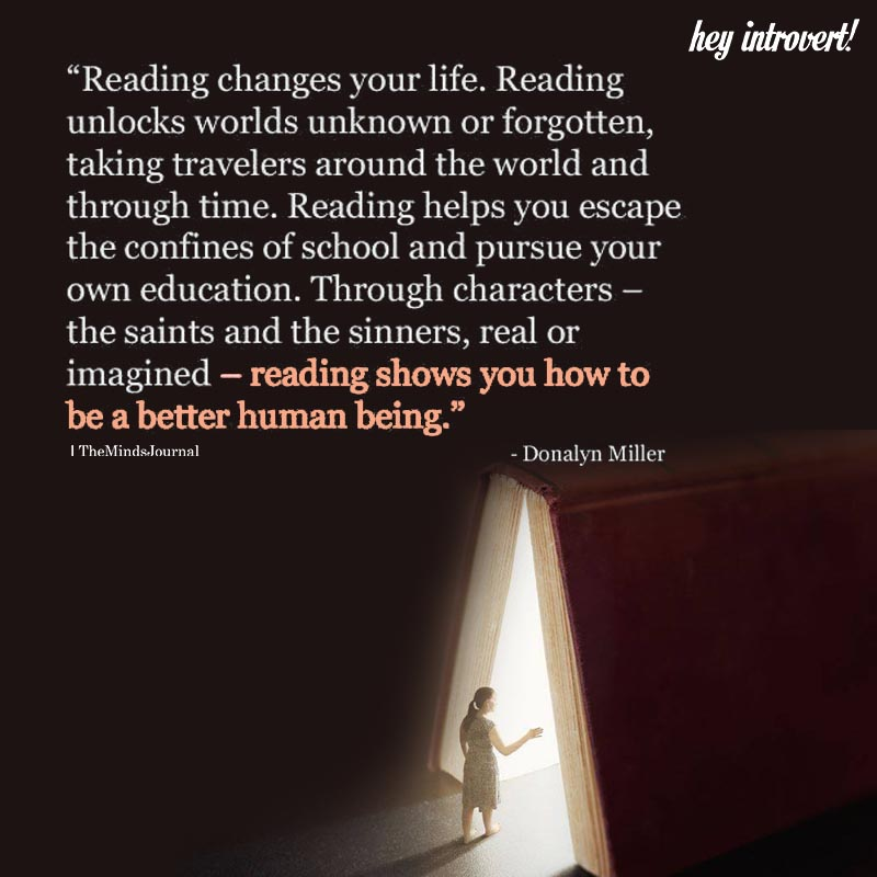 Reading Changes Your Life