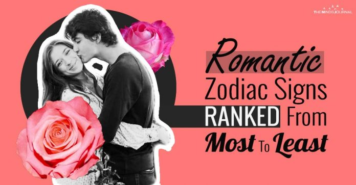 Romantic Zodiac Signs RANKED From Most To Least