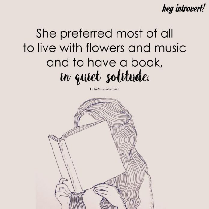 She Preferred Most Of All To Live With Flowers