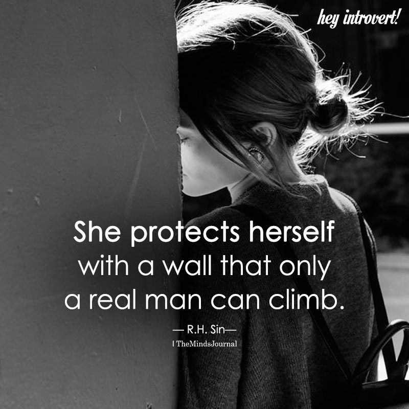 She Protects Herself