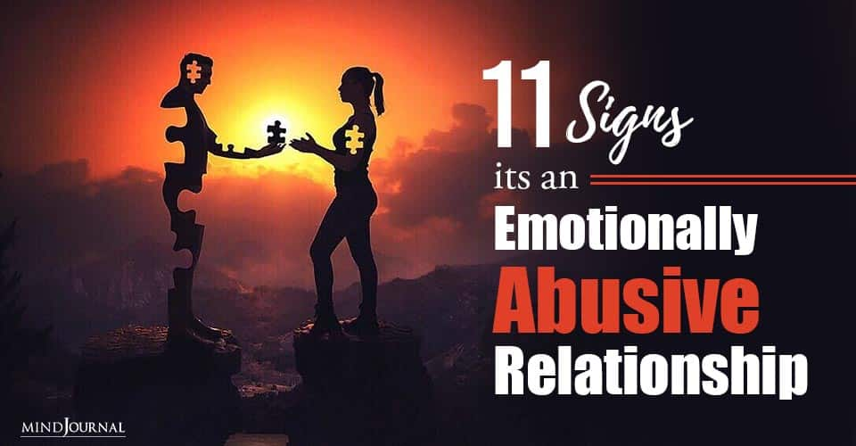 Signs Emotionally Abusive Relationship