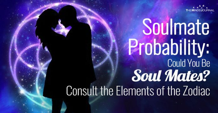 Soulmate Probability: Could You Be Soul Mates? Consult the Elements of the Zodiac