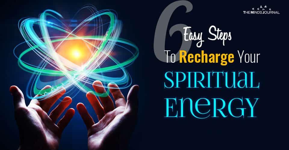 Steps Recharge Spiritual Energy