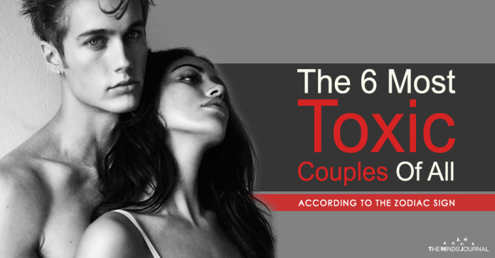 The 6 Most Toxic Couples of all
