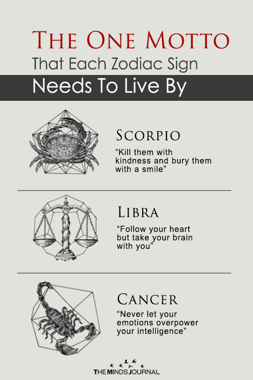 The One Motto That Each Zodiac Sign Needs To Live By
