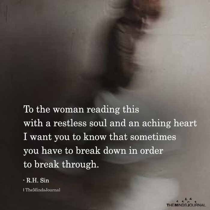 To The Woman Reading This With A Restless Soul