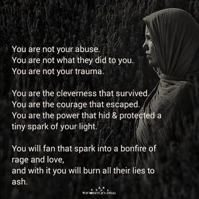 You Are Not Your Abuse
