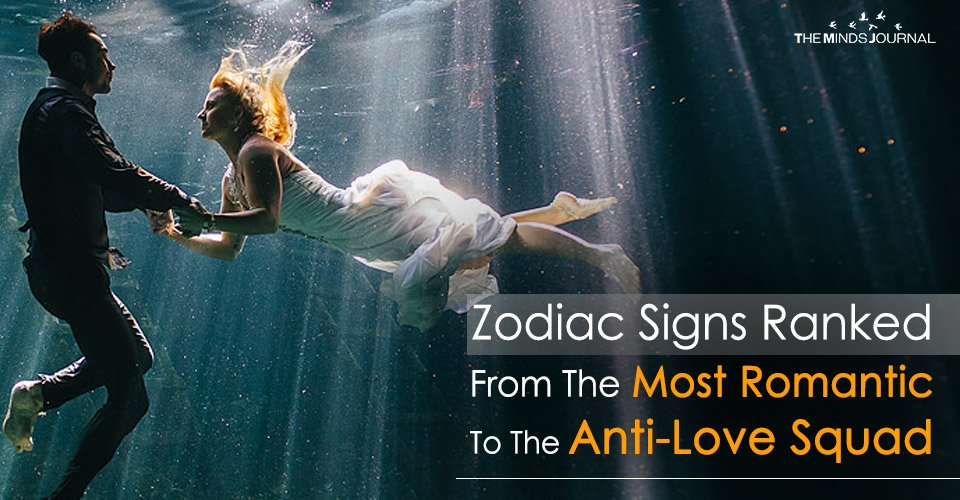 Zodiac Signs Ranked From The Most Romantic To The Anti-Love Squad
