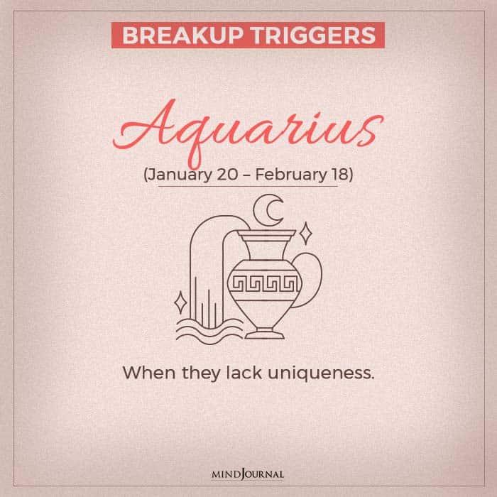 breakup aquarius