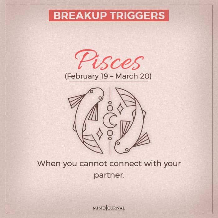 breakup pisces
