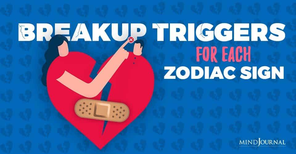 breakup triggers
