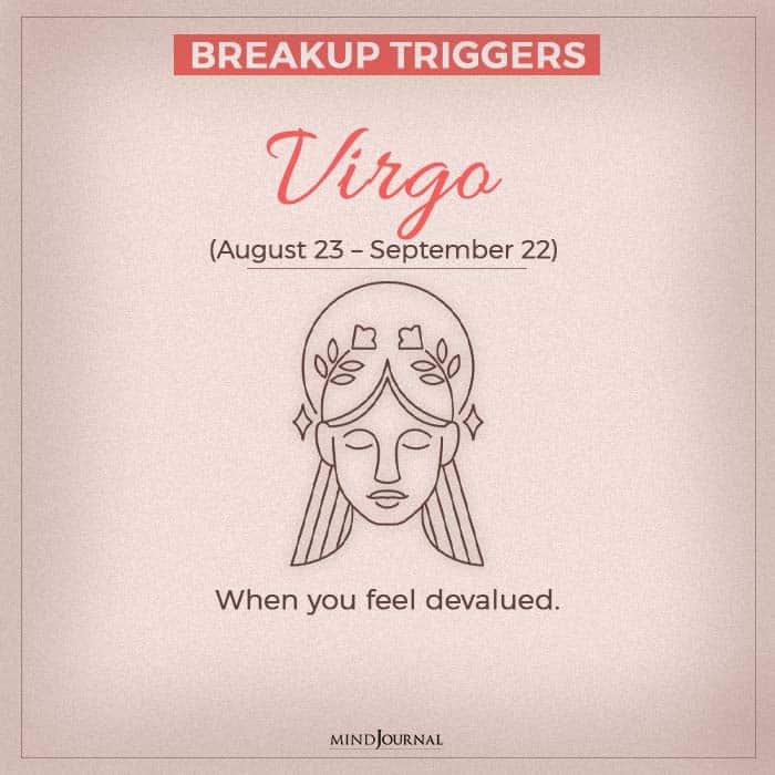 breakup virgo