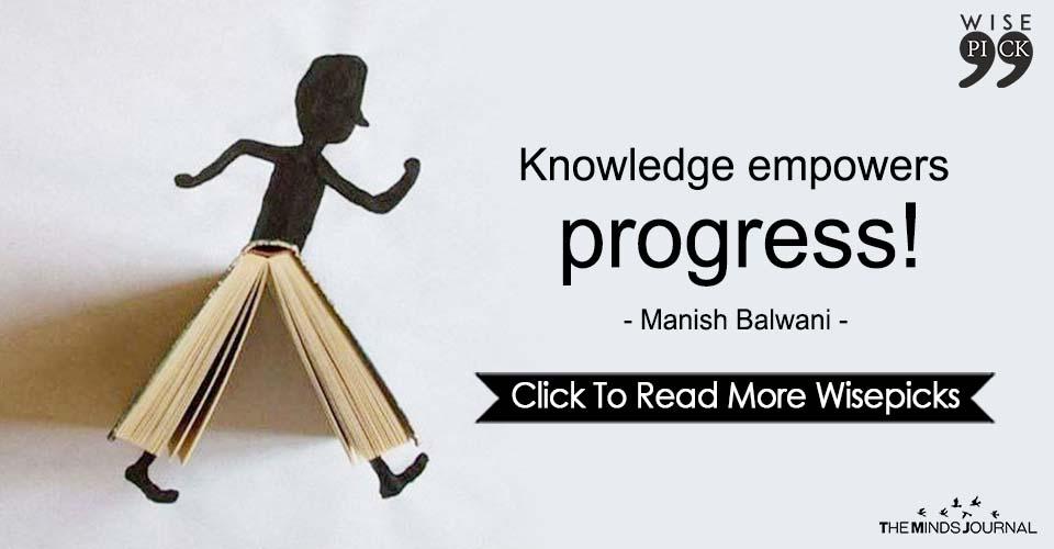 Knowledge Empowers Progress