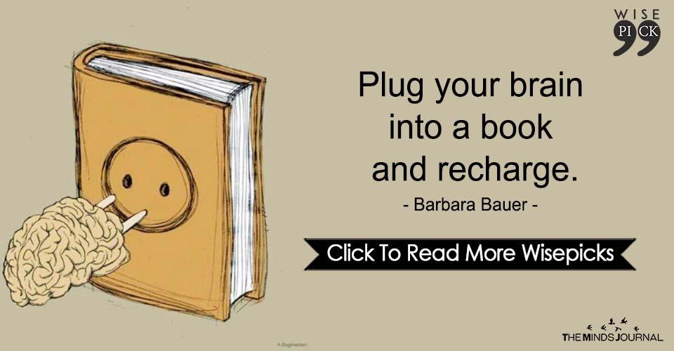 Plug Your Brain Into A Book