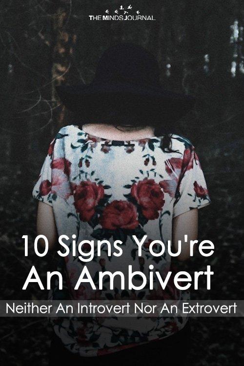 10 Signs You're An Ambivert (Neither An Introvert Nor An Extrovert)