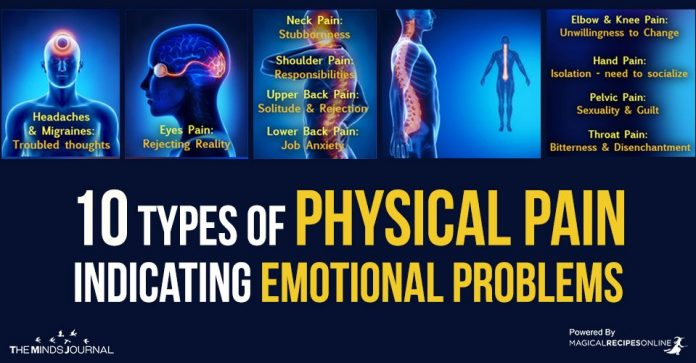 10 Types of Pain Indicating Emotional Problems