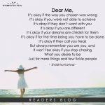 Dear Me ...
