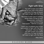 Fight with time