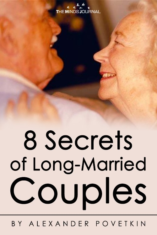 8 Secrets of Long-Married Couples