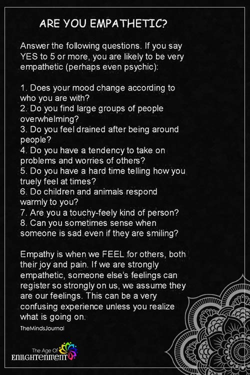 Are You Empathetic