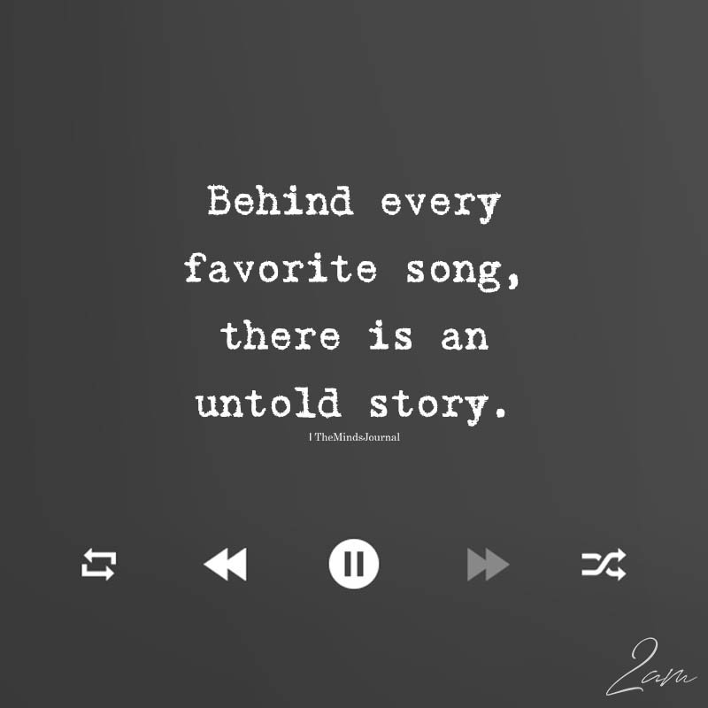 Behind Every Favorite Song