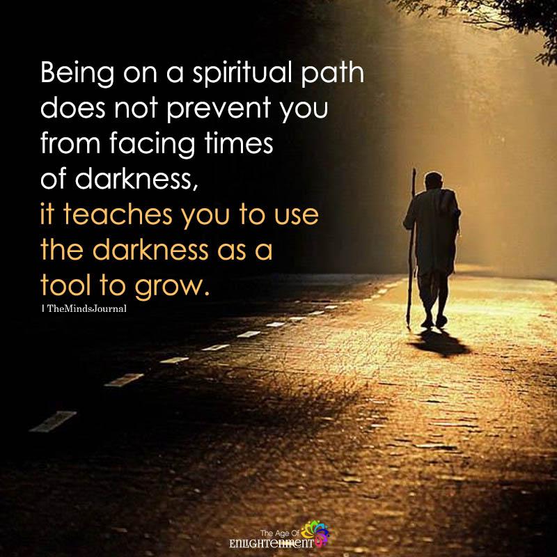 Being On A Spiritual Path