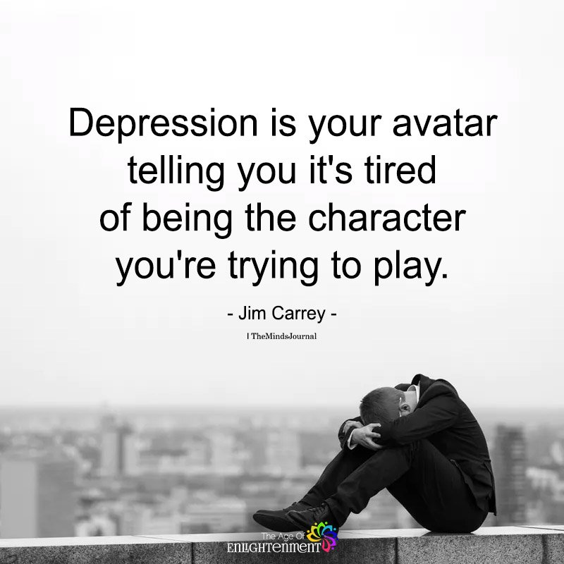 Depression Is Your Avatar