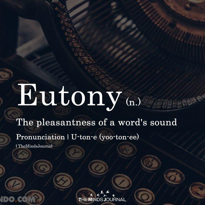 Eutony
