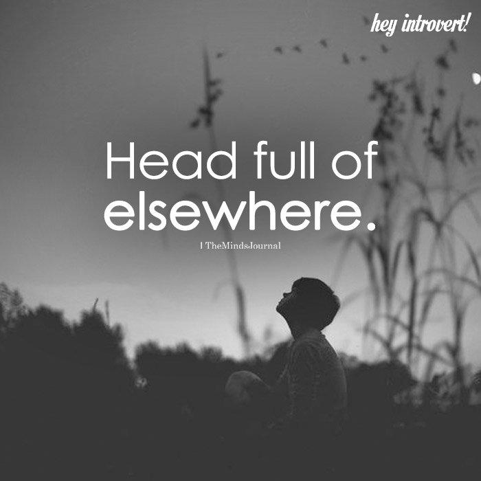 Head Full Of Elsewhere
