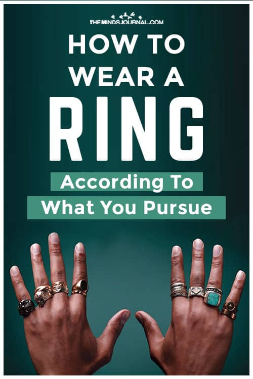 How Wear Ring According To What You Pursue Pin