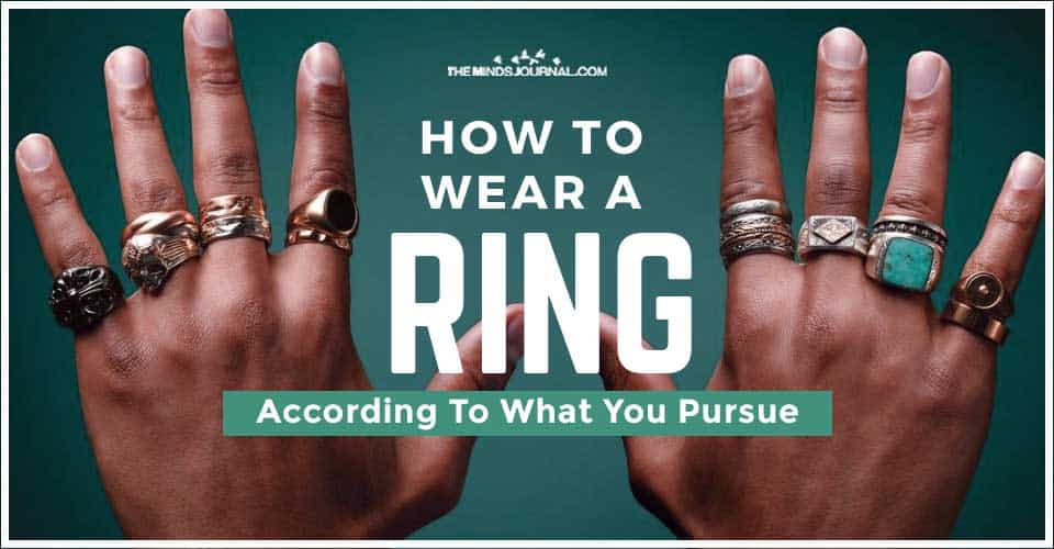 How Wear Ring According To What You Pursue