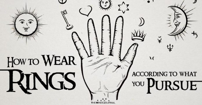 How To Wear A Ring According To What You Pursue