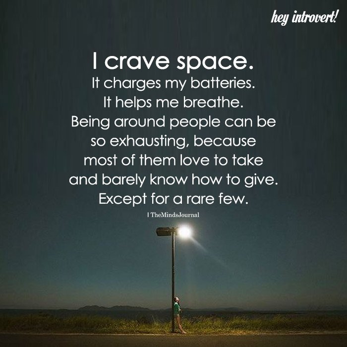 I Crave Space