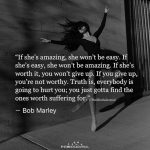 If She's Amazing, She Won't Be Easy