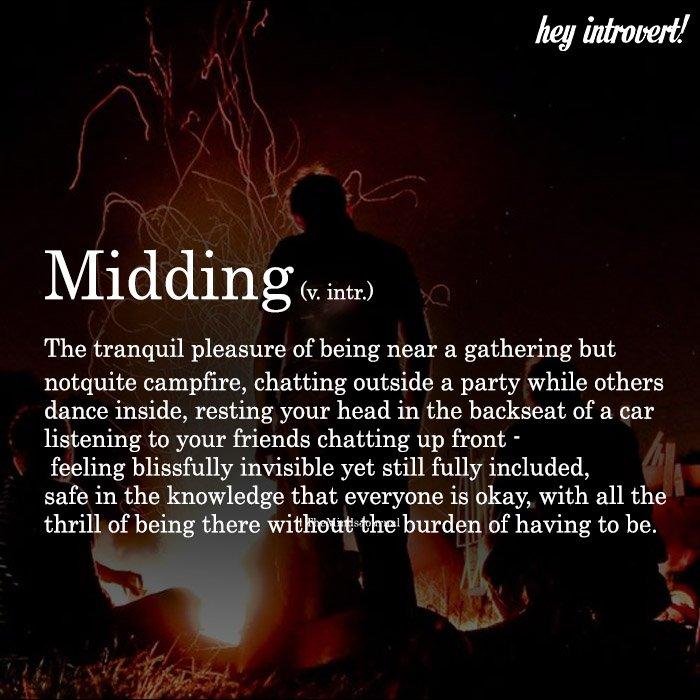 Midding