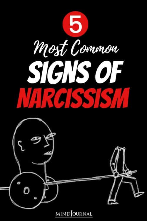 Most Common Signs of Narcissism pin