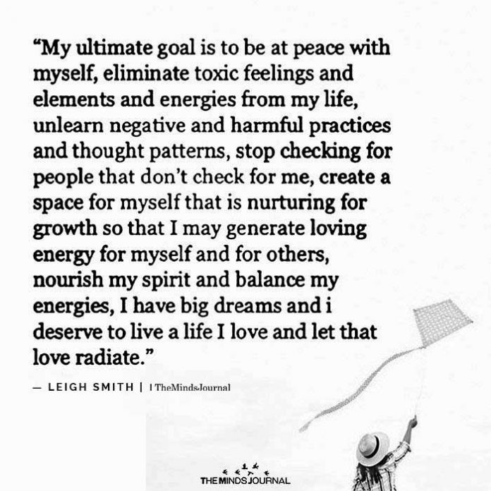 My Ultimate Goal