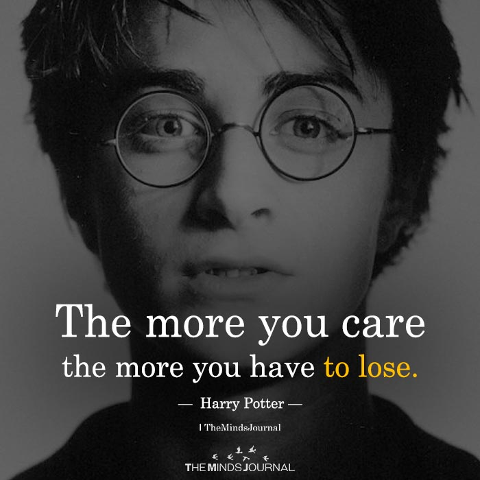 The More You Care