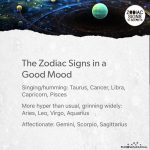 The Zodiac Signs In A Good Mood