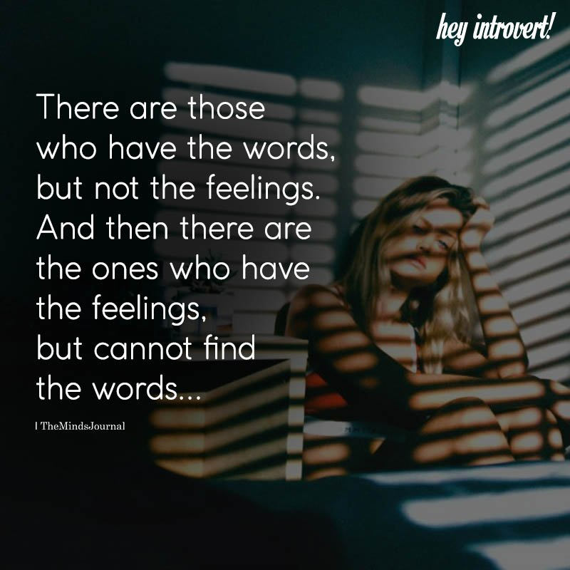 There Are Those Who Have The Words