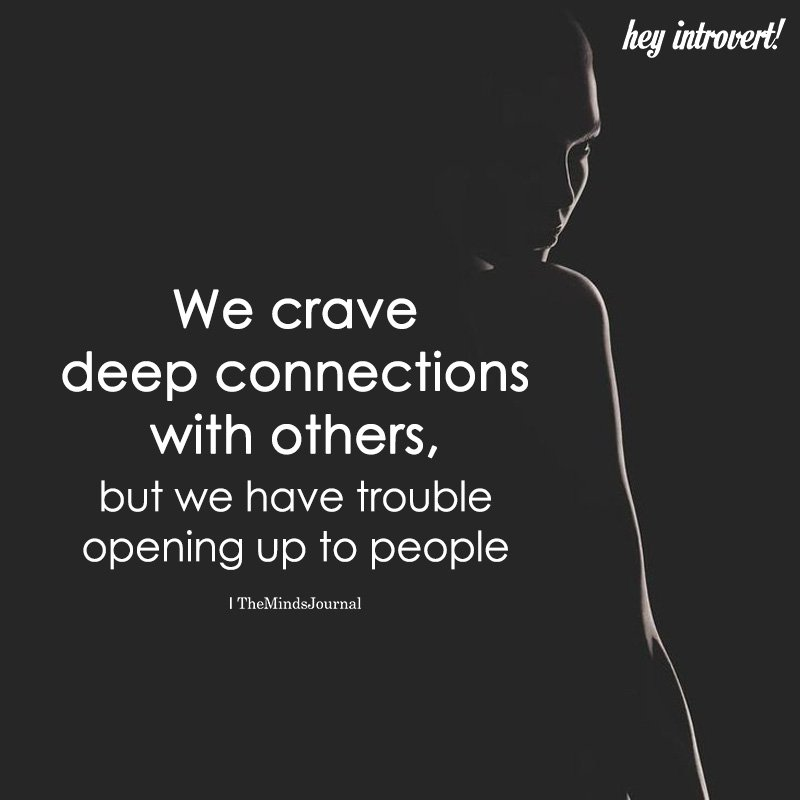 We Crave Deep Conversations With Others
