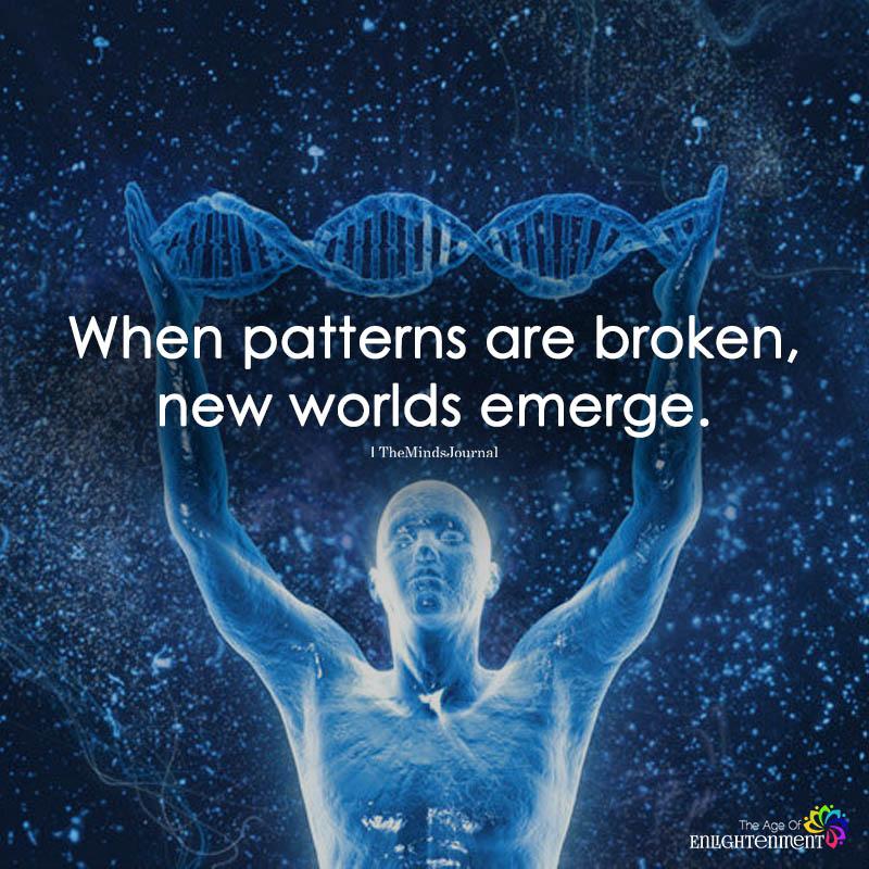 When Patterns Are Broken