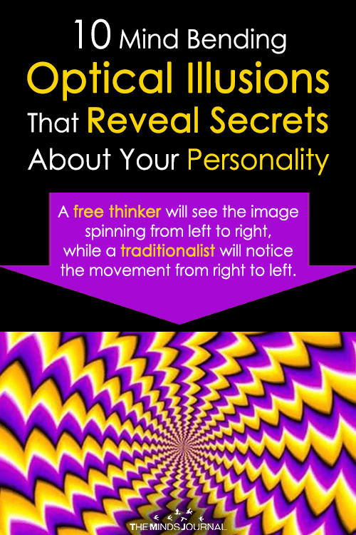 10 Mind Bending Optical Illusions That Will Help Reveal Secrets About Your Personality