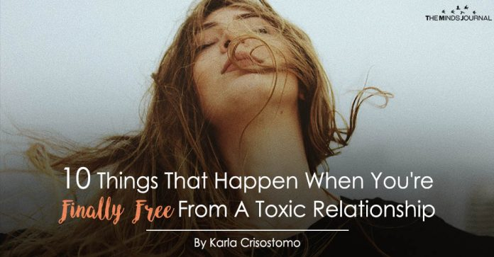 10 Unexpected Things That Happen When You're Finally Free From A Toxic Relationship