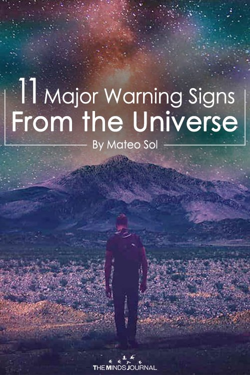 11 Major Warning Signs From the Universe