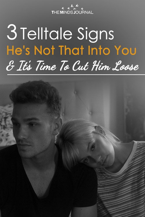 3 Telltale Signs He's Not That Into You (& It's Time To Cut Him Loose)
