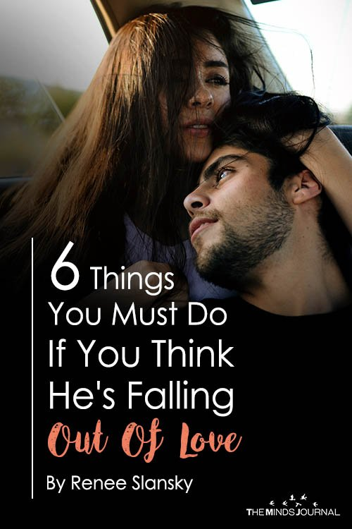 6 Things You Must Do If You Think He's Falling Out Of Love With You