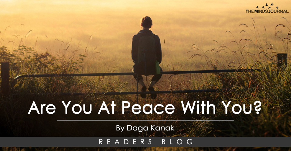 Are You At Peace With You?