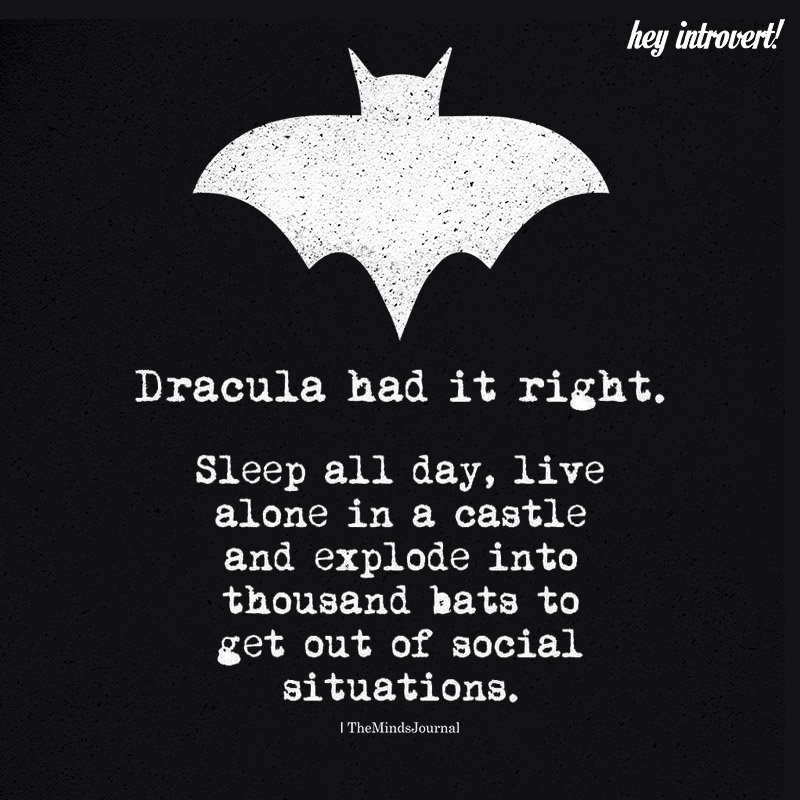 Dracula Had It Right